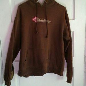 Vintage Billabong hooded sweatshirt